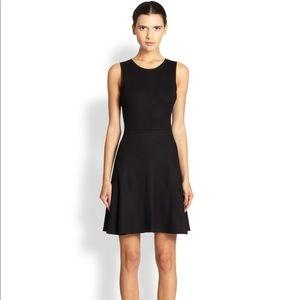 Theory Nikay black knit sleeveless dress size 10